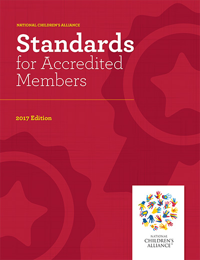 "Click here to view the ""Standards for Accredited Members, 2017 Edition"""