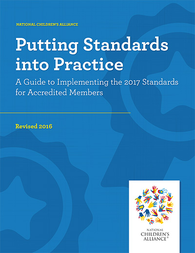 "Click here to view the ""Putting Standards into Practice"" version of the Standards for Accredited Members, 2017 edition"