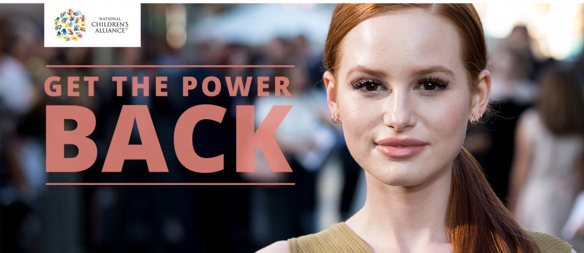 Get the Power Back | Watch Madelaine Petsch's new video |